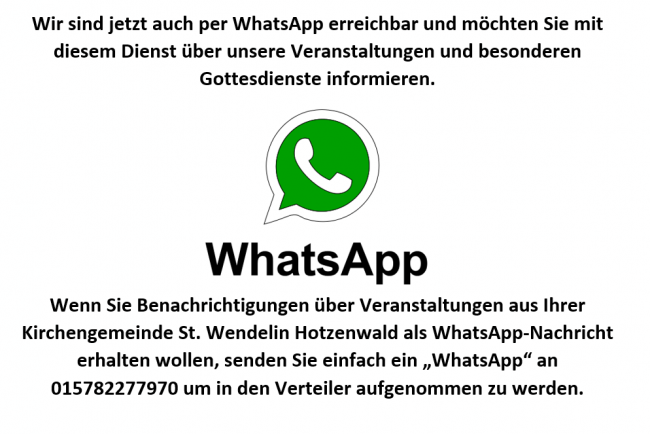 WhatsApp-Gruppe